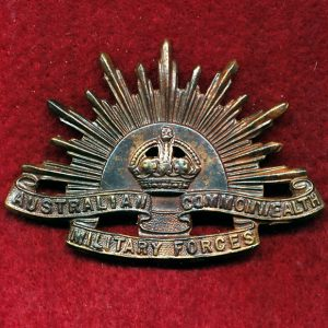 Hat Badge - G.S. Rising Sun (ACMF) (GSRS0073)