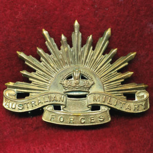 Hat Badge - G.S. Rising Sun (AMF)  (GSRS0075)