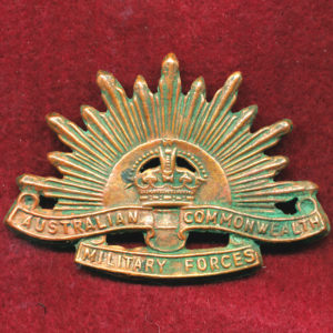 Hat Badge - G.S. Rising Sun (ACMF) (GSRS0080)
