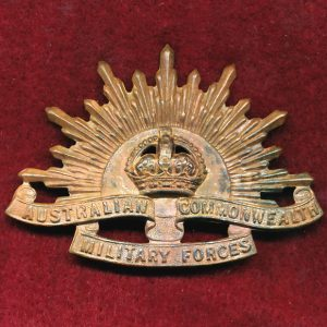 Hat Badge - G.S. Rising Sun (ACMF) (GSRS0085)