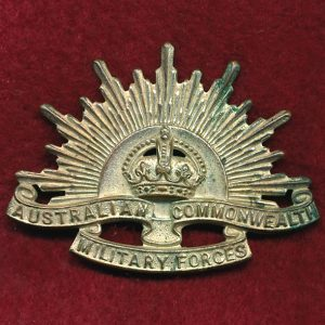 Hat Badge - G.S. Rising Sun (ACMF) (GSRS0087)