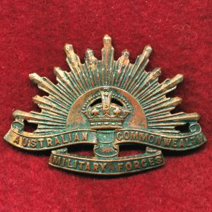 Hat Badge - G.S. Rising Sun (ACMF) (GSRS0089)