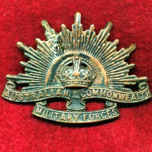 Hat Badge - G.S. Rising Sun (ACMF) (GSRS0092)