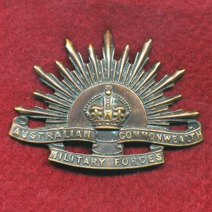 Hat Badge - G.S. Rising Sun (ACMF) (GSRS0096)