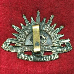 Hat Badge - G.S. Rising Sun (ACMF) (GSRS0097)
