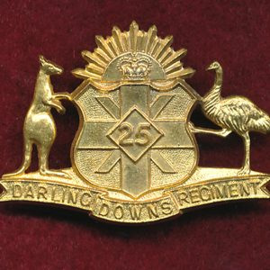 25 INF BN - Collar Badge (Darling Downs Regiment)