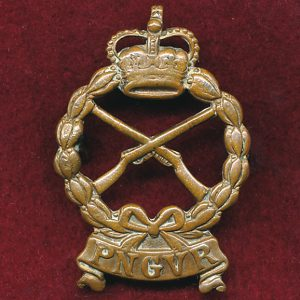 PNGVR - Hat / Cap / Collar Badge (53/60s)  (Luke)