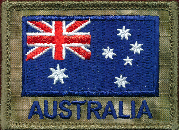 SF - ANF (Australian National Flag) patch   (Multicam)