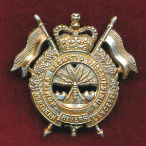 15th Northern Rivers Lancers Hat Badge (53/60)