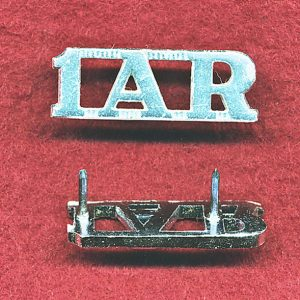 1st Armoured Regiment Metal Shoulder Title (A/A)