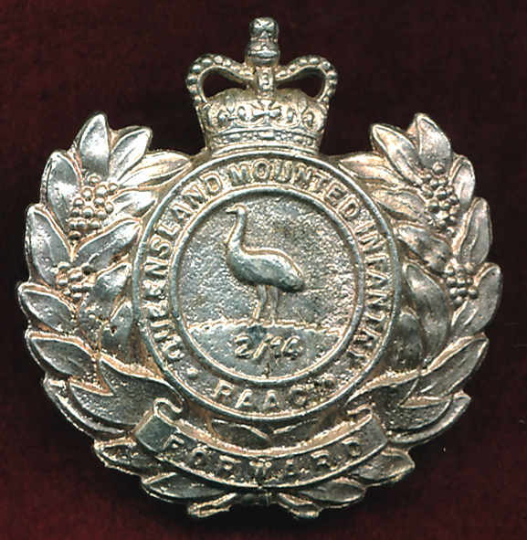2/14 QMI - Hat Badge (60/85) (Var2)