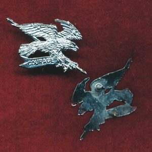 2 CAV REGT - Collar Badge - post 1997  (w/R)