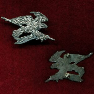 2 CAV REGT - Collar Badge - (w/R) (60s/96)