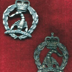 3/4 CAV REGT - Hat Badge (ca85) (Var 3)