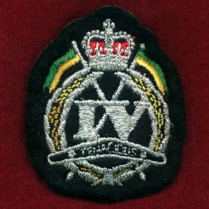 4 CAV REGT -  Bullion Beret Badge