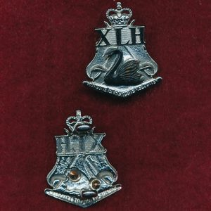 10th Light Horse Regt Collar Badge (w/L) (53/60)