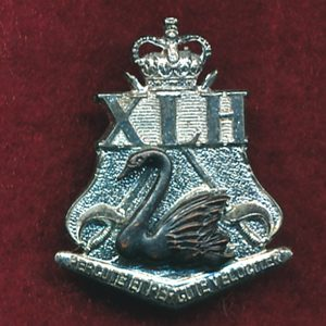 10th Light Horse Regt Collar Badge (w/L) (/64/96)
