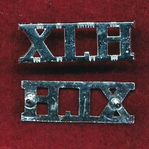10th Light Horse Regiment Shoulder Title ( XLH)