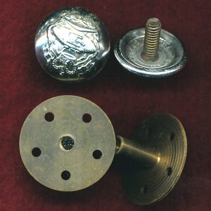 RAAC - Button (S)  (Chicago Screw complete)