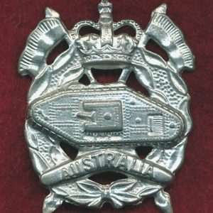 RAAC - Hat Badge (60/96)  (Var 5)