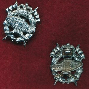 RAAC - Collar Badge (w/L)  (53/60)   (Var 2)
