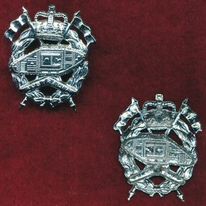 RAAC - Collar Badge (w/R)  (60/96)  (Var 1)