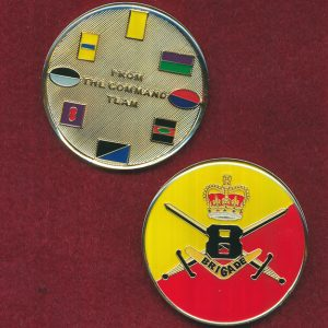 8 Division - Command Team Coin