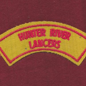 HRL Embroidered Shoulder Title ( B)