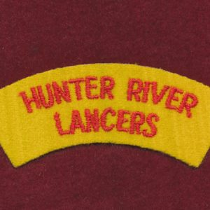 HRL Embroidered Shoulder Title ( u/B)