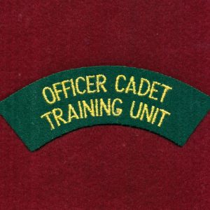 OCTU Cloth Shoulder Title