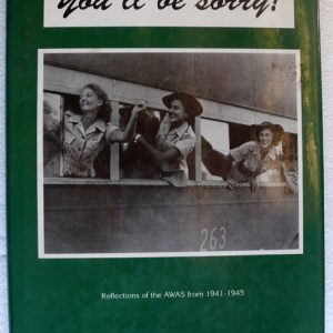 You'll be sorry  (Author Ann Howard)
