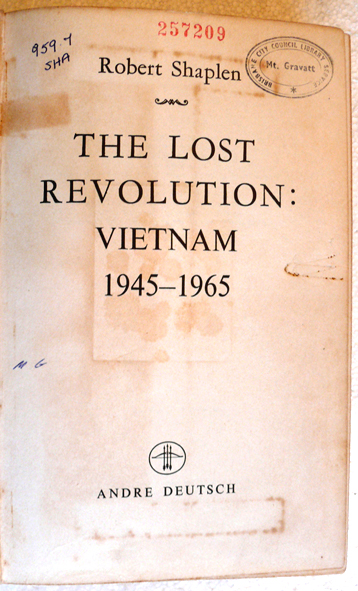 The Lost Revolution Vietnam (Robert Shaplen)