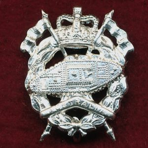 RAAC - Collar Badge (w/R)  (53/60)   (Var 1)