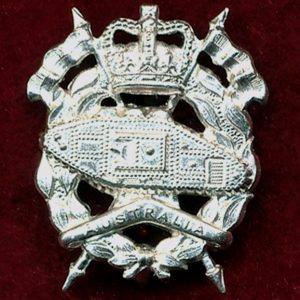 RAAC - Collar Badge (w/L)  (53/60) (Var.1)