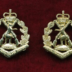 RAR Collar Badges - Opposed Pair  (A/A)