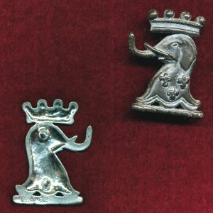 1/15th RNSWL Collar Badge (60/85) (w/L)