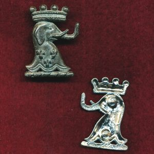 1/15th RNSWL Collar Badge (60/85) (w/R)