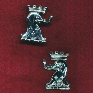 1/15th RNSWL Collar Badge (Post 1997) (w/R)