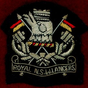 1/15th RNSWL Bullion Beret Badge  (60/96) (Var.1)