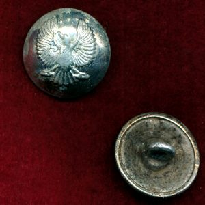 3/9 SAMR - Anodised Button (Silver)