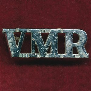 8/13 VMR - Metal Shoulder Title