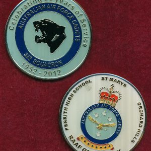 Australian Air force Cadets - 323 Sqn  -  60 year Coin
