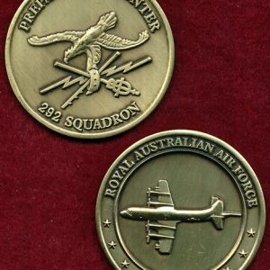 RAAF  - 292 Sqn Coin (gold colour)