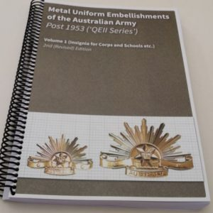 Metal Uniform Embellishments - Aust Army - Post 1953 (2nd ED)