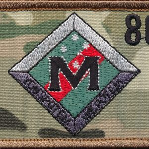 7 RAR Mortar Platoon patch (Var.2)
