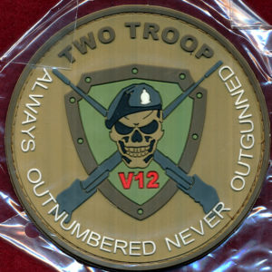 2/14 LHR  - V12, 2 TP, A SQN Patch (pvc)