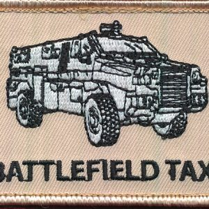 Battlefield Taxi patch (Tan)