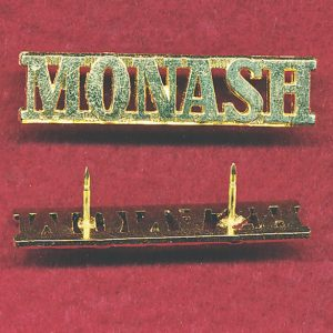 Monash University Regiment Shoulder Title (Post 97)