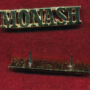 Monash University Regiment Shoulder Title (A/A)