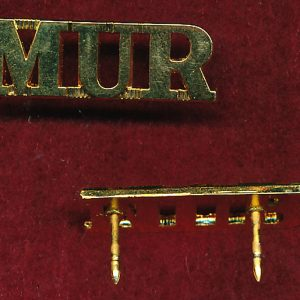 MUR - Shoulder Title (Metal -post 1997)